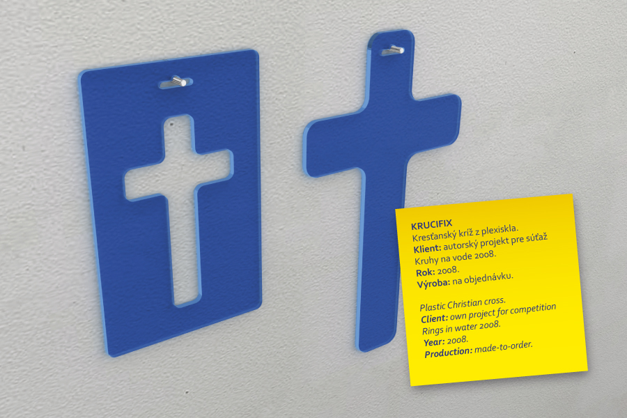 krucifix plastic Christian cross